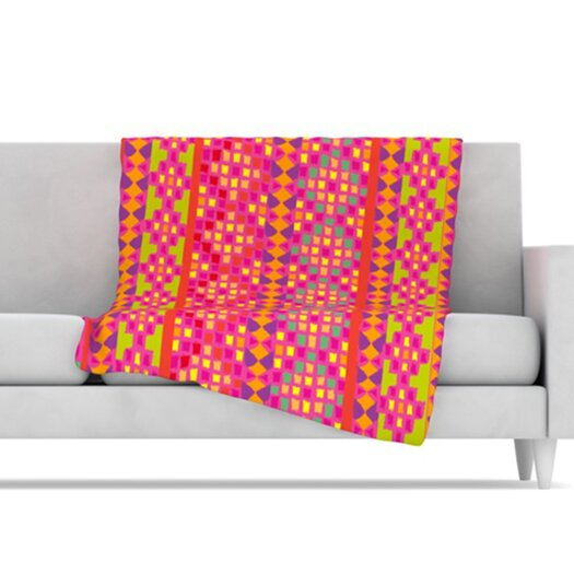 KESS InHouse Mexicalli Fleece Throw Blanket