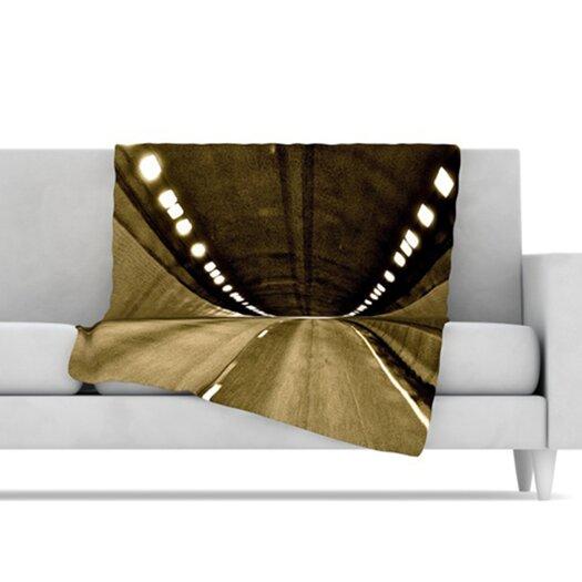 KESS InHouse Tunnel Fleece Throw Blanket