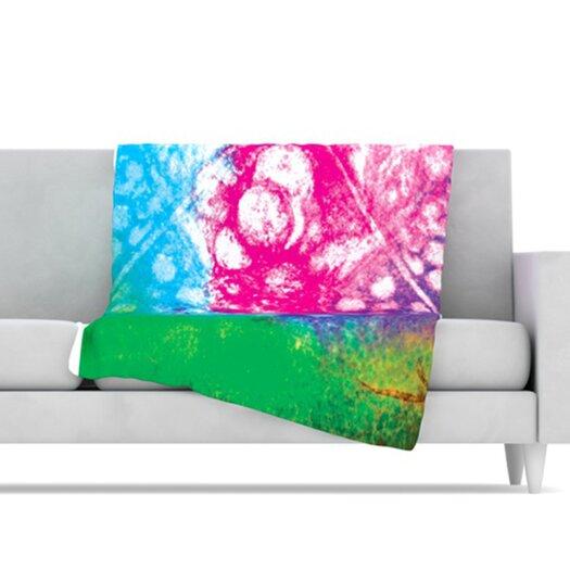 KESS InHouse Nastalgia Fleece Throw Blanket