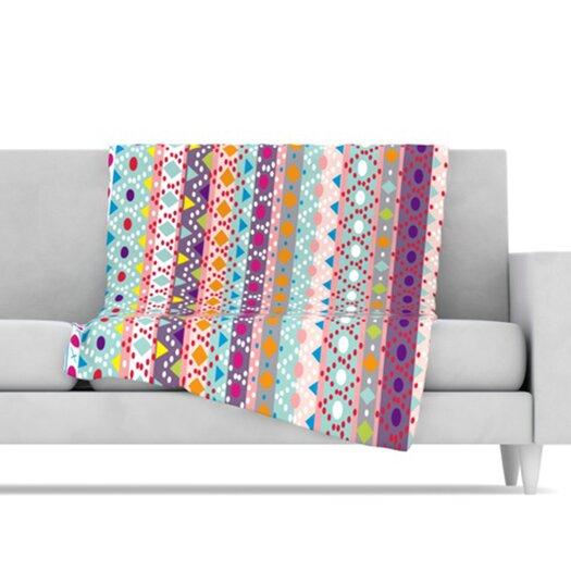 KESS InHouse Ayasha Fleece Throw Blanket