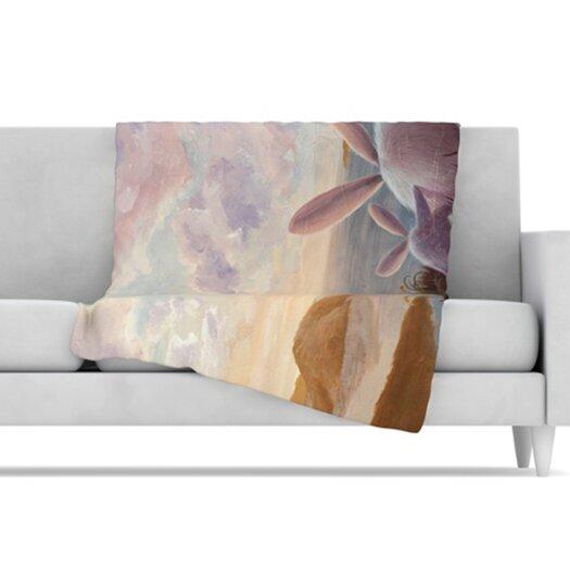 KESS InHouse A New Perspective Fleece Throw Blanket
