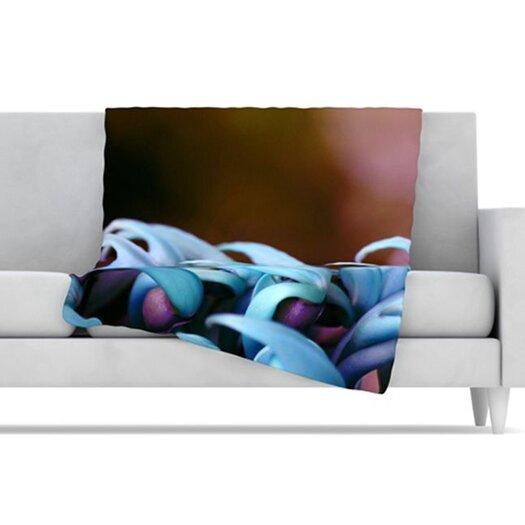 KESS InHouse Bloom Fleece Throw Blanket