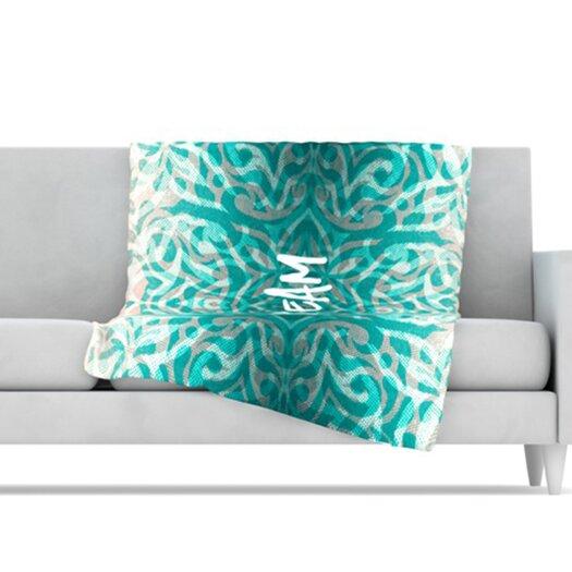 KESS InHouse Tattooed Dreams Microfiber Fleece Throw Blanket