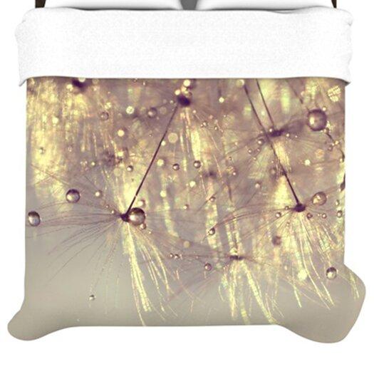 KESS InHouse Sparkles of Gold Duvet