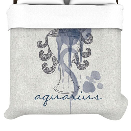 KESS InHouse Aquarius Duvet