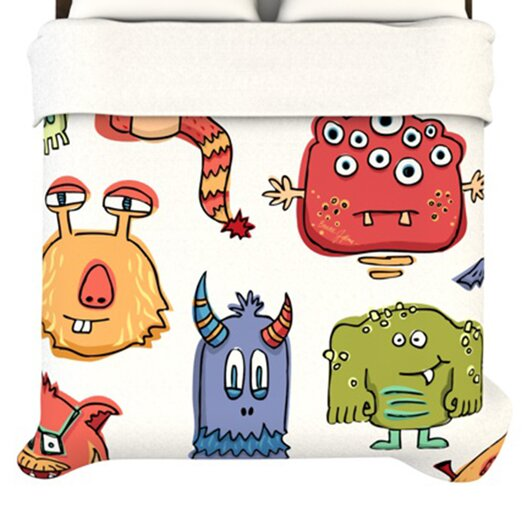 KESS InHouse Little Monsters Duvet