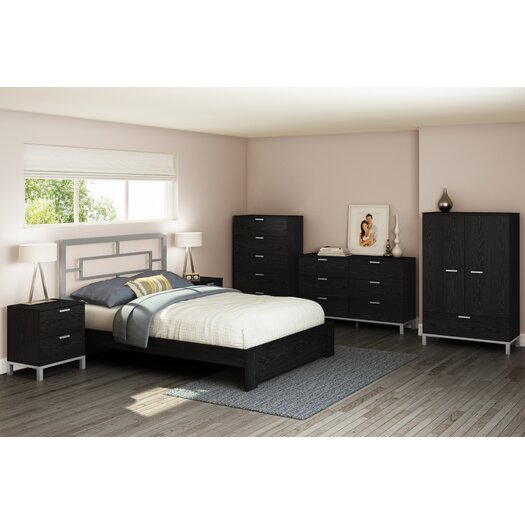 South Shore Flexible 2 Drawer Nightstand