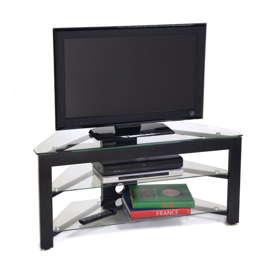 """Convenience Concepts 43"""" Glass TV Stand"""