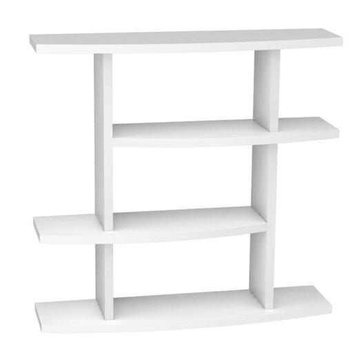"Convenience Concepts Northfield Wave 40.25"" Bookcase"