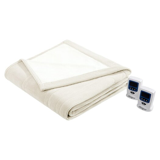 Simmons Beautyrest Micro Fleece Heated Blanket