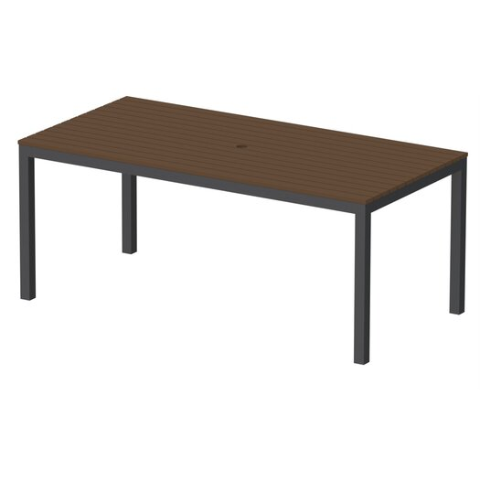 "Elan Furniture Loft 72""x36"" Outdoor Dining Table"