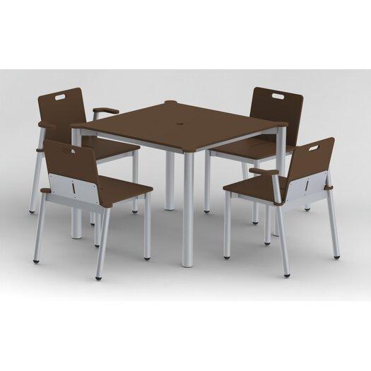 Elan Furniture Bridge II Stacking Dining Side Chair