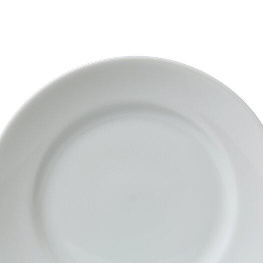 "Ten Strawberry Street Classic White 7.5"" Salad / Dessert Plate"