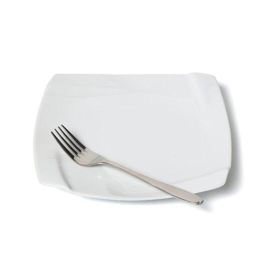 "Ten Strawberry Street Nouve Square 7.5"" Salad / Dessert Plate"