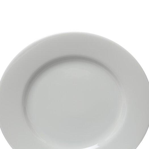 """Ten Strawberry Street Classic White 10.25"""" Dinner Plate"""