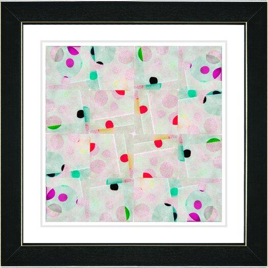 Studio Works Modern Snowflake Symmetry Canvas Art by Zhee Singer