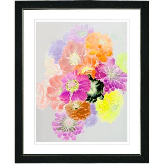 "Studio Works Modern ""Orange Majuli"" by Zhee Singer Framed Graphic Art"