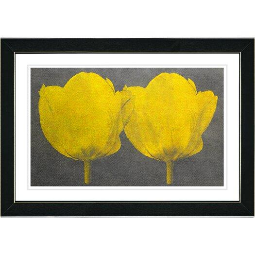 Studio Works Modern Twin Tulips Canvas Art by Zhee Singer