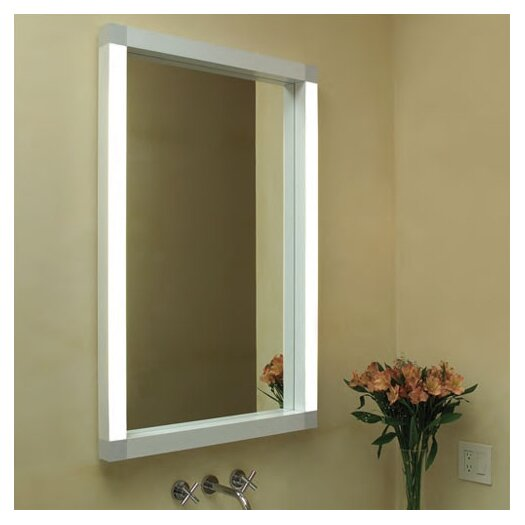 Rezek 24W Lighted Bathroom Mirror