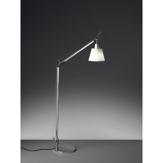 Artemide Tolomeo w/ Shade Reading Floor Lamp