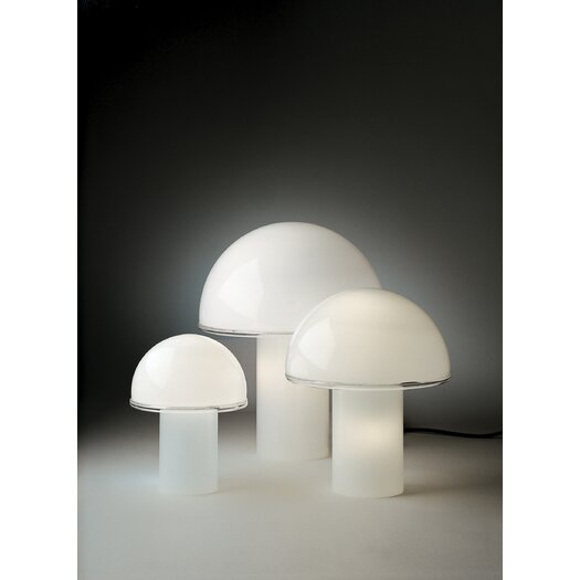 Artemide Onfale Table Lamp with Bowl Shade