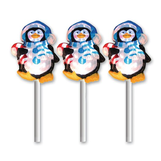 Brite Star LED Icy Penguin Pathmarkers Christmas Decoration