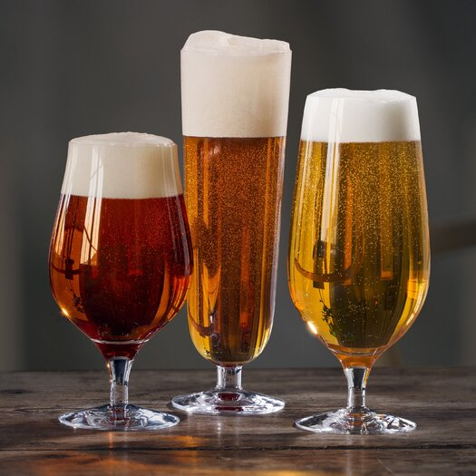 Orrefors 3 Piece Beer Glass Set