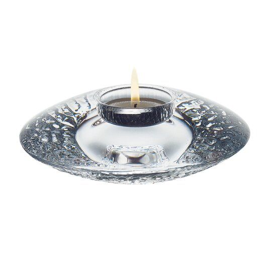 Orrefors Discus Crystal Votive