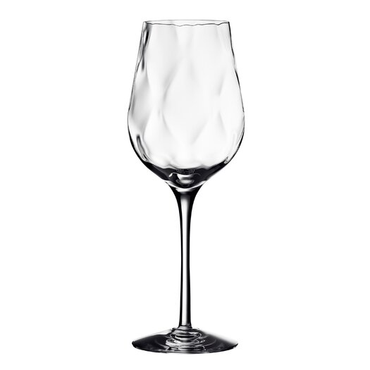 Orrefors Dizzy Diamond White Wine Glass