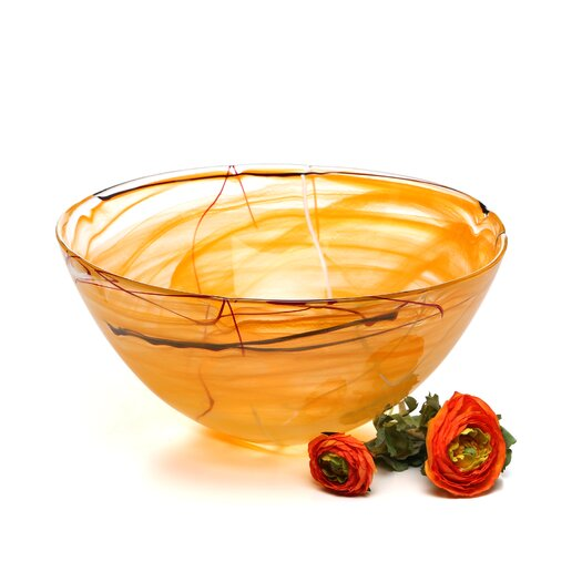 Kosta Boda Contrast Large Serving Bowl