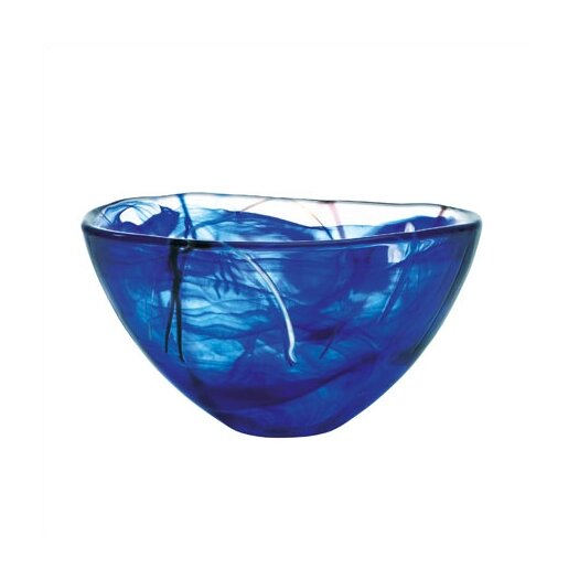 Kosta Boda Contrast Medium Serving Bowl