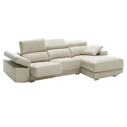 Eurosace Luxury Tecno Sectional - Italian Fabric
