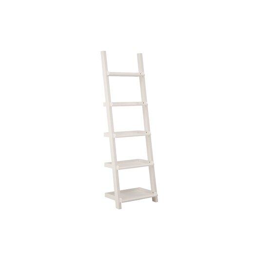 Asterix Leaning Desk with 5 Ladder Shelves