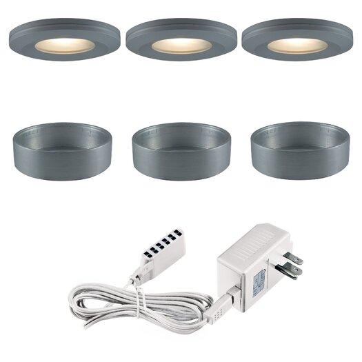 Jesco Lighting Slim Disk Xenon Beveled Edged Kit