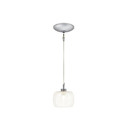 Jesco Lighting Aidan 1 Light Pendant and Canopy Kit