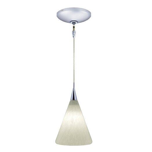 Jesco Lighting Ellis 1 Light Pendant and Canopy Kit