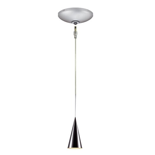 Jesco Lighting Vance 1 Light Pendant and Canopy Kit