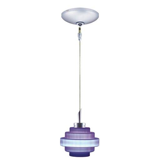 Jesco Lighting Grace 1 Light Pendant and Canopy Kit