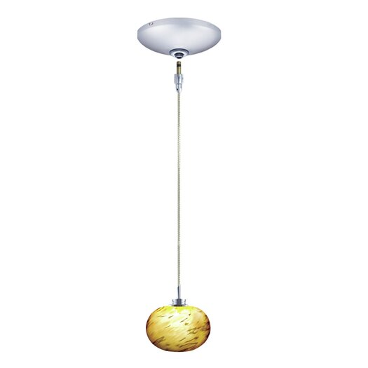 Jesco Lighting Todd 1 Light Pendant and Canopy Kit
