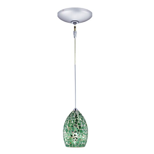 Jesco Lighting Moz 1 Light Pendant and Canopy Kit