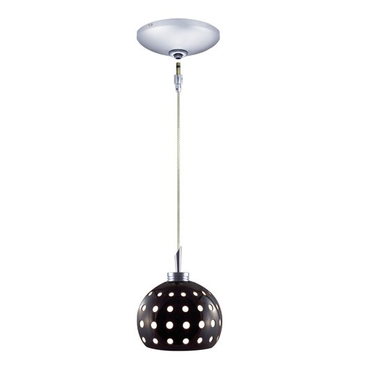 Jesco Lighting Dotty 1 Light Pendant and Canopy Kit