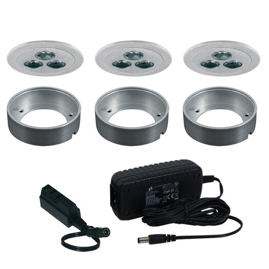 Jesco Lighting Silm Disk LED Fixed Round Kit