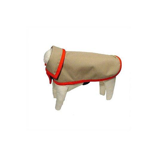 George SF Rainproof Cordura Dog Jacket in Khaki