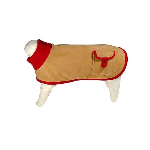 George SF Bambi Ultrasuede Dog Jacket