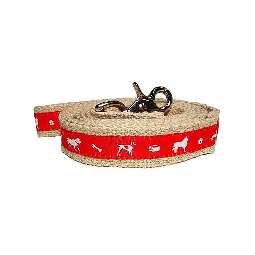 George SF Vintage Jute Dog Leash