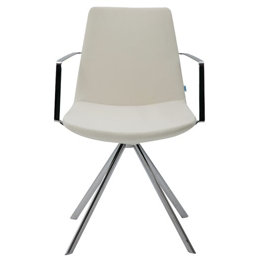 Pera Elips Eco Leather Arm Chair