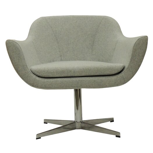 Green Camira Wool Lounge Chair