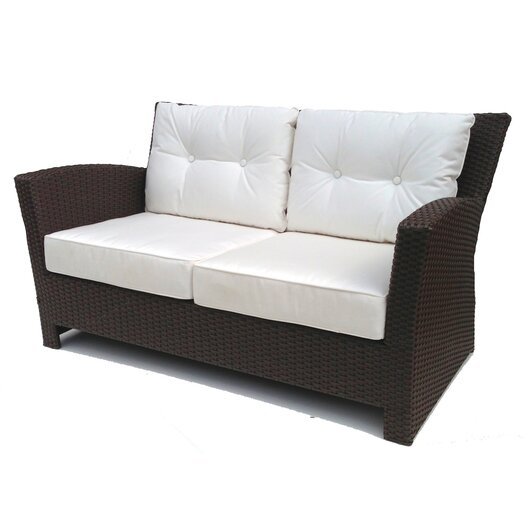 ElanaMar Designs Sonoma Loveseat with Cushions