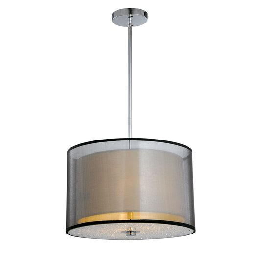 Bromi Design Phoenix 1 Light Drum Pendant