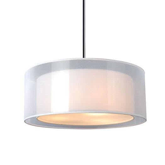 Bromi Design Phoenix 3 Light Drum Pendant